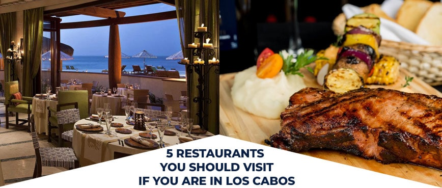 5 Restaurants You Should Visit If You Are In Los Cabos Are